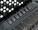 Bugari Superfisa 380/SP/C Free Bass Convertor Chromatic Button Accordion - Accordion Lounge