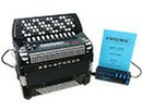 Excelsior Midivox 3  96 Bass Chromatic Button Accordion - Accordion Lounge