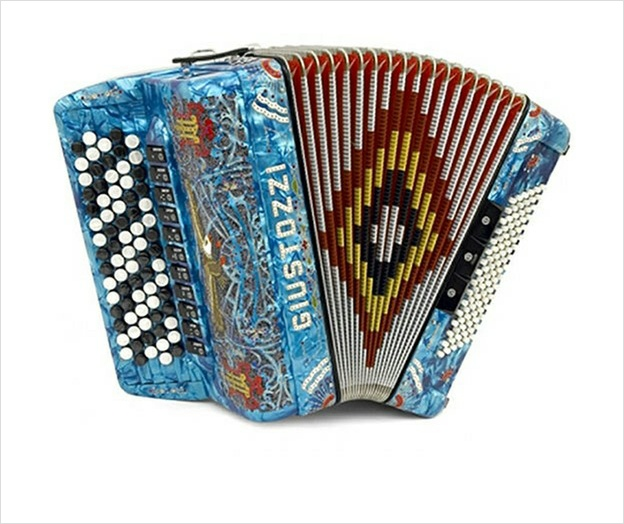 Giustozzi Mod 3035/C Chromatic Accordion - The Accordion Lounge