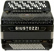 Giustozzi Mod 3150/C Musette Chromatic Accordion