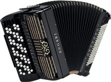 Bugari Armando 505 Gold Plus/Silver Plus Chromatic Accordion
