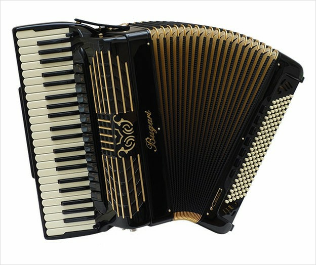 Bugari Armando 288 Gold Plus Special Edition Piano Accordion - The Accordion Lounge
