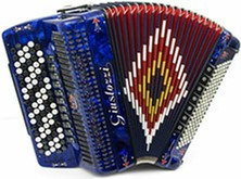 Giustozzi Mod 3060/C Musette Chromatic Accordion