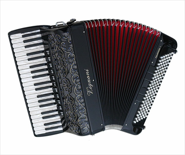 Vignoni Philarmonic 1 Compact Musette Piano Accordion - The Accordion Lounge