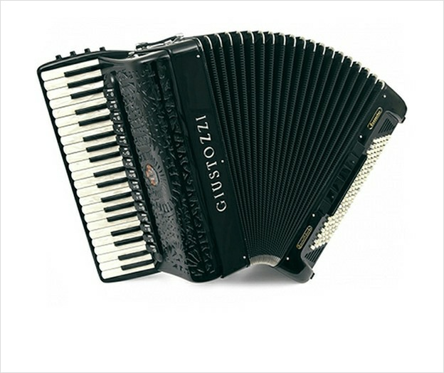 Giustozzi Mod 1030/P Free Bass Converter Piano Accordion - The Accordion Lounge
