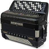 Giustozzi Mod 3070/C Chromatic Accordion