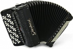 Giustozzi Mod 3120/CR Compact Chromatic Accordion