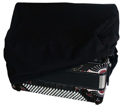 Black Accordion Dust Cover