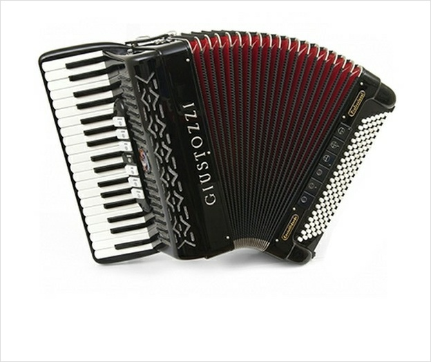 Giustozzi Mod 1000/P Free Bass Converter Piano Accordion - The Accordion Lounge