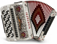 Giustozzi Mod 3130/C Chromatic Accordion
