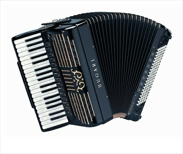 Bugari Armando 285 Gold Plus - The Accordion Lounge